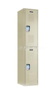 Heavy Duty Double Tier Metal Lockerimage 1