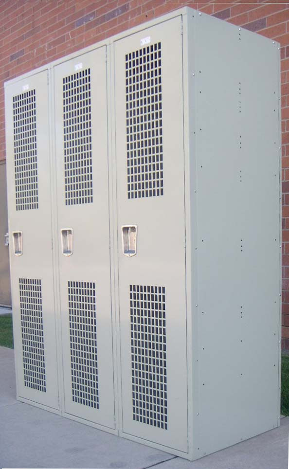 Vented Gym Lockers - Single Tierimage 1