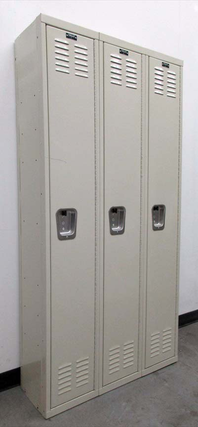 Single Tier Metal Lockers for saleimage 1