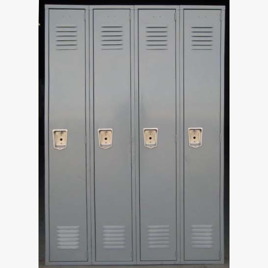 Gray Penco Metal School Lockersimage 1