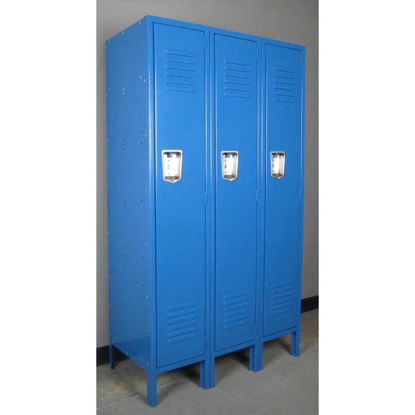 Blue 1-tier Metal Lockersimage 1