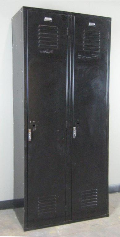 Black Single Tier Penco Lockersimage 1