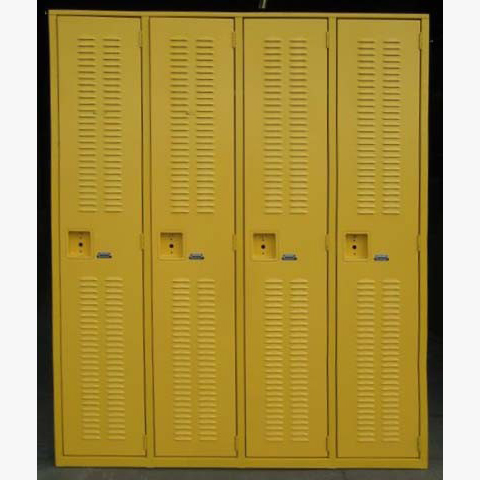Yellow Superior Welded Lockersimage 1