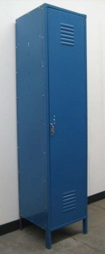 Blue Penco Single Tier Lockers image 1