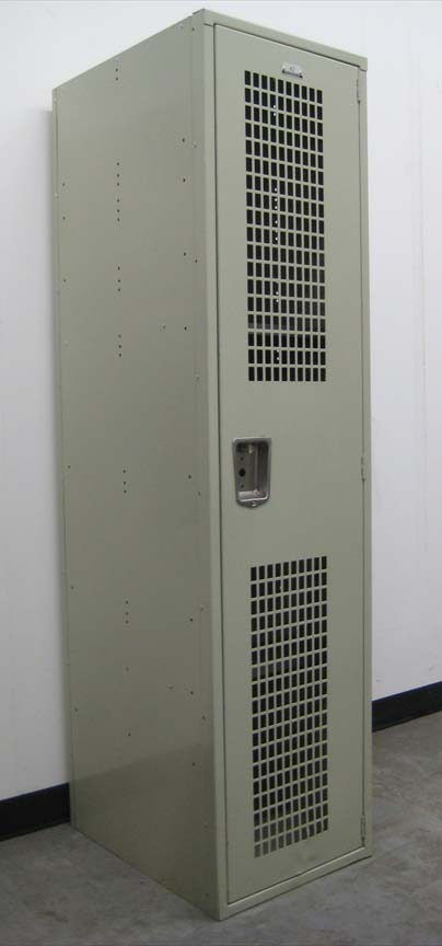 Single Tier Metal Locker with Ventilated Doorsimage 1