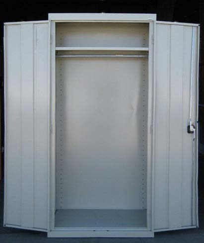Used Metal Wardrobe Cabinetimage 1