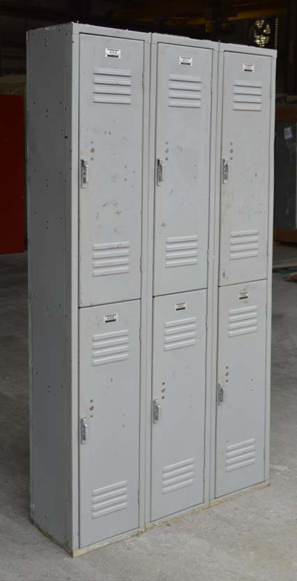 Double Tier Penco Metal Lockersimage 1