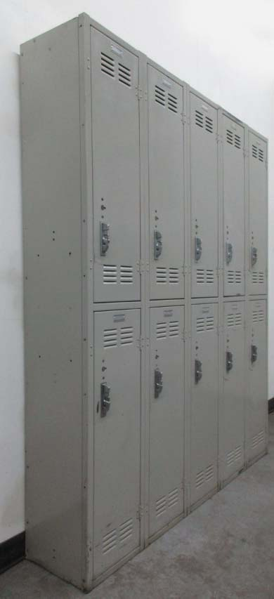 Double Tier School Hallway Lockersimage 1
