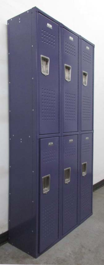 Vintage Metal School Lockersimage 1