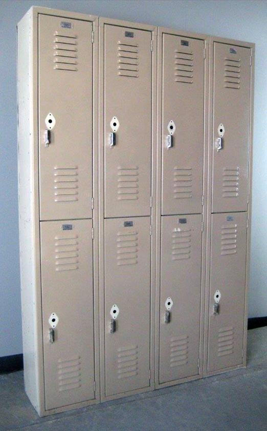 Double Tier Lyon Lockers