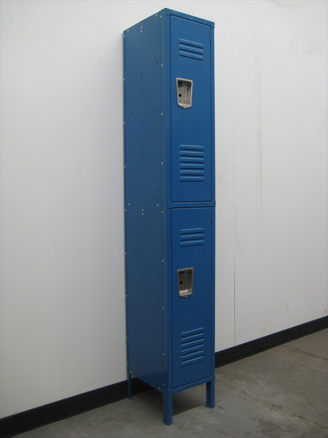 Double Tier Lockers with Recessed Handlesimage 1