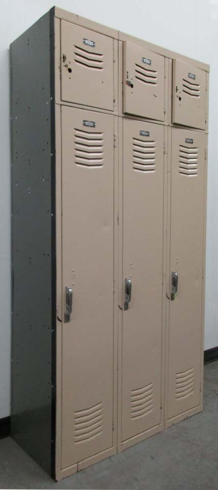 Vintage Metal Lockers for Saleimage 1