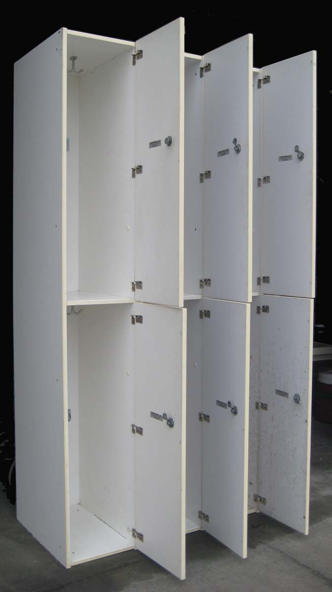 Wood gym lockers for Wood lockers with doors