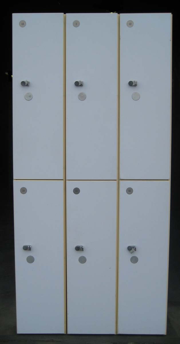 Plastic Laminate Wooden Lockersimage 1
