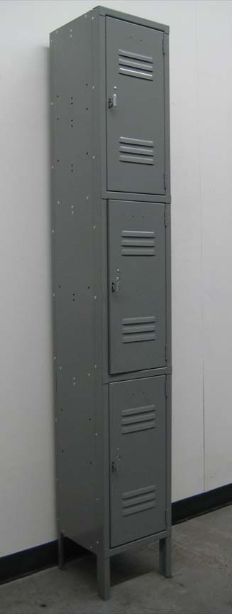 Three Tier Metal Storage Lockerimage 1