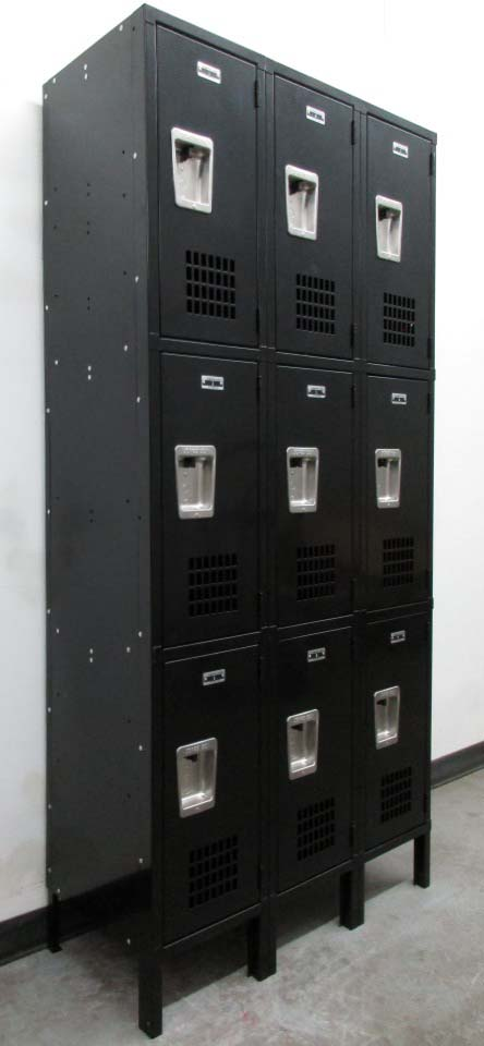 3-Tier Jorgenson Employee Lockersimage 1