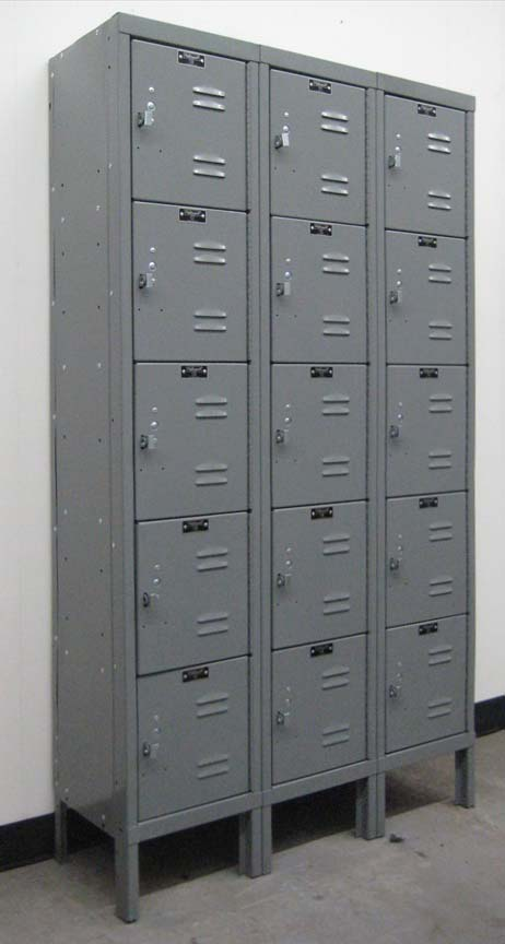 Hallowell 5-Tier Box Lockersimage 1