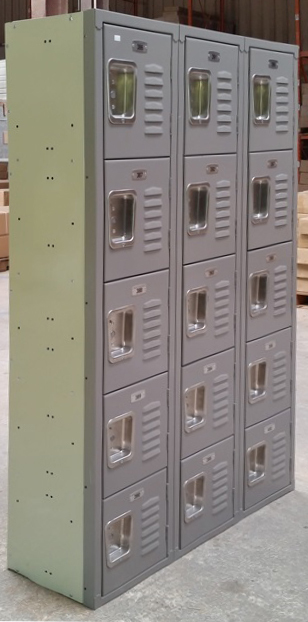 5-Tier Office Lockersimage 1