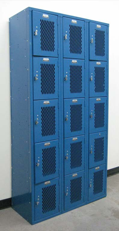 Five Tier Heavy Duty Gym Lockersimage 1