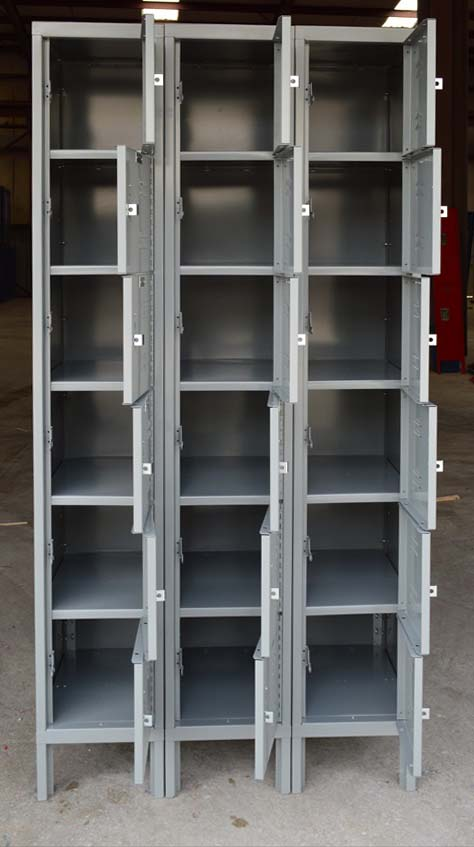 Freight returned 6-tier lockersimage 1