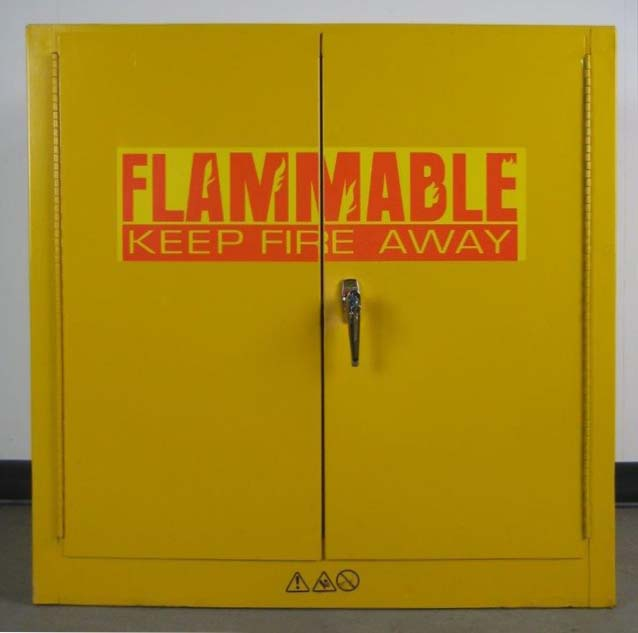 Yellow Flammable Storage Cabinetimage 1