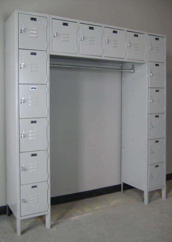Sixteen Person Lockers