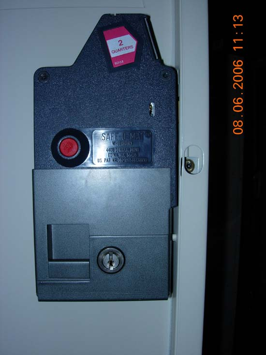 Coin Operated Locker Locksimage 1