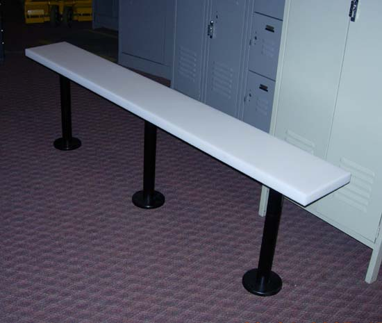 Locker Room Bench