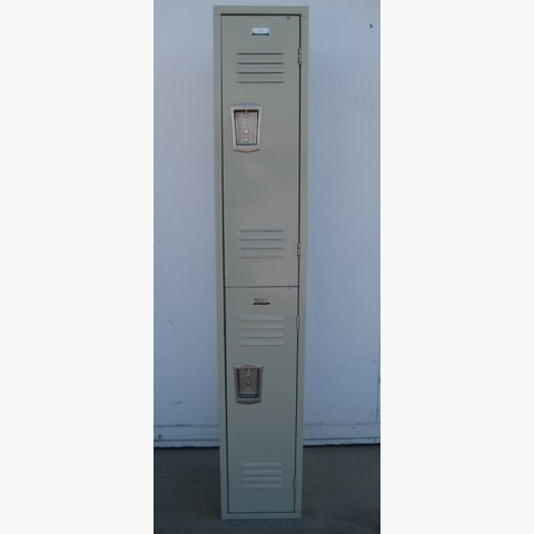 Used Double Tier Hall Lockerimage 1