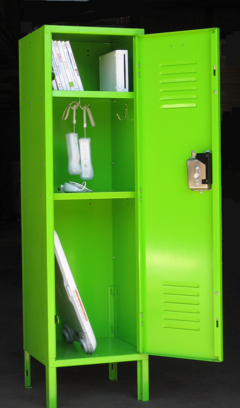 Fun game console lockers for Game storage ideas