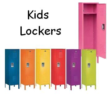 Kids lockers for sale for Metal lockers ikea
