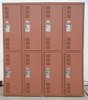 Ventilated 2-Tier Gym Lockers